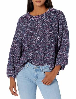 Jack by BB Dakota Women's Party Favor Confetti Wide Sleeve Sweater