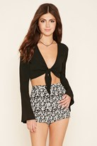 Forever 21 FOREVER 21+ Floral Print Woven Shorts