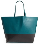 BP Colorblock Faux Leather Tote - Green