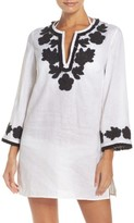 Tory Burch Women's Applique Cover-Up Tunic