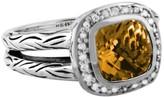 Effy Jewelry Effy 925 Citrine and Diamond Ring, 2.56 TCW