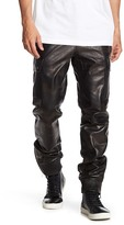 Daniel Won Genuine Leather Camouflage Pants