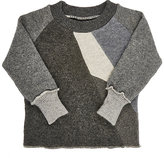 Agua Fine-Gauge Knit Cashmere Sweater-GREY