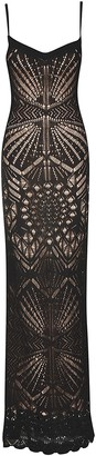 DSQUARED2 Perforated Sleeveless Dress