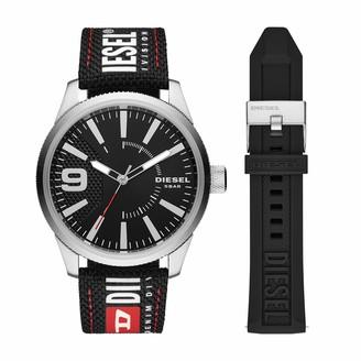 Diesel Men's Analog Quartz Watch with NYLON Strap DZ1906