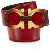Salvatore Ferragamo Ombre Metal Handcuff Reversible Belt