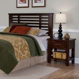 Home styles Cabin Creek 2-pc. Queen/Full Headboard & Nightstand Set