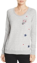 Sundry Patches Sweatshirt - 100% Exclusive