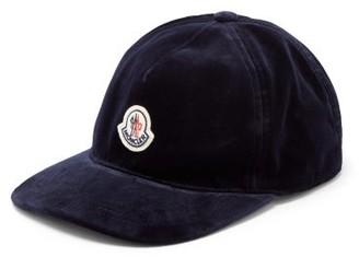 Moncler Logo-patch Cotton Baseball Cap - Navy