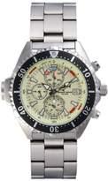 Chris Benz Depthmeter Chronograph CB-C-NEON-MB Men's watch Depth Gauge