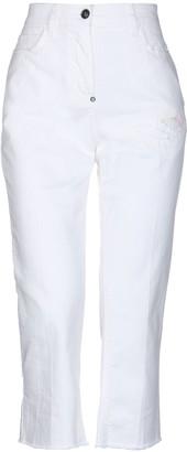 WHITE SAND 88 Denim capris