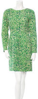 Jonathan Saunders Patterned Wool Dress
