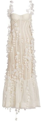 Zimmermann Wild Botanica Petal Midi Dress
