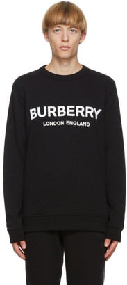 Burberry Black Logo Lanslow Sweatshirt