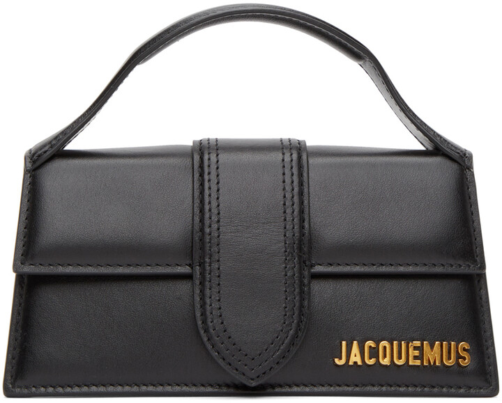 Thumbnail for your product : Jacquemus Black 'Le Bambino' Top Handle Bag