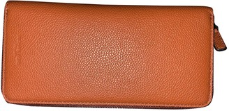 Michael Kors Orange Leather Small bags, wallets & cases