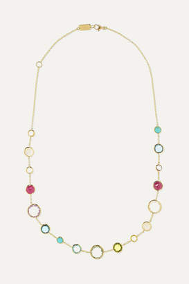 Ippolita Lollipop Lollitini 18-karat Gold Multi-stone Necklace