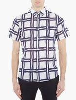 Éditions MR Checked Short-Sleeved Shirt