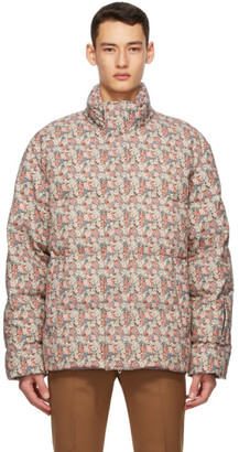 Gucci Multicolor Liberty London Edition Down Floral Jacket