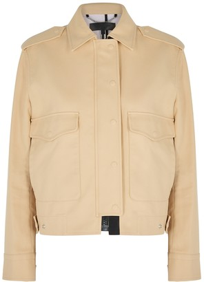 Rag & Bone Ludlow ecru cotton jacket