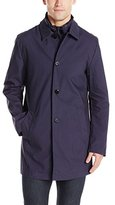 DKNY Men's Darryll 36 Inch Seam-Sealed Raincoat Changed To Darwin with Vest