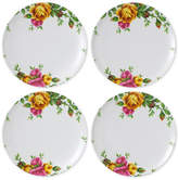 Royal Albert Old Country Roses Picnic Collection 4-Pc. Melamine Salad Plate Set