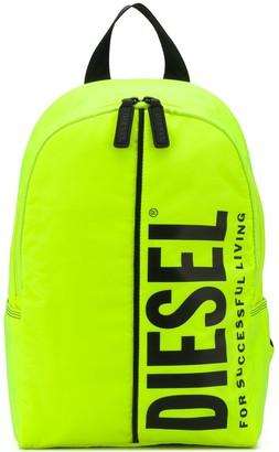 Diesel TEEN logo print backpack