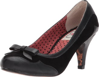 Bettie Page Women's Bp310-jolie Spectator Pump