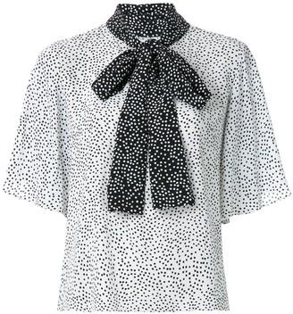 Olympiah Jarosse printed blouse