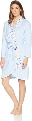 Carole Hochman Women's Printed WRAP Robe