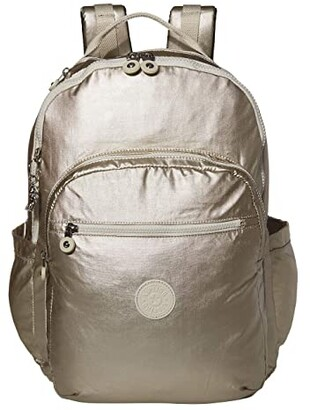 Kipling Seoul XL Laptop Backpack (Cloud Metal) Backpack Bags