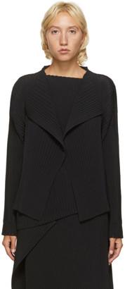 Issey Miyake Black Pleats Blazer