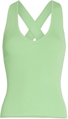 Intermix Jordan Cross Back Knit Tank
