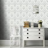 Graham & Brown 56 sq. ft. Duck Egg/White Royale Wallpaper