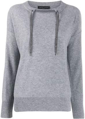 Fabiana Filippi Drawstring Cashmere Sweater