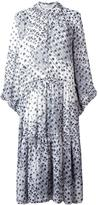 See by Chloe floral print maxi dress - women - Cotton/Polyester/Viscose - 34