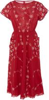 By Ti Mo byTiMo Fleur Anglaise Midi Dress