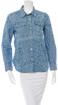 Etoile Isabel Marant Denim Button-Up Top
