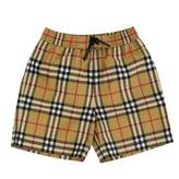 Burberry Swim Shorts With Vintage Check Motif