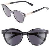 Max Mara Women's Gemini 52Mm Cat Eye Sunglasses - Black
