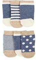 Etiquette Clothiers Set Of 6 Socks-BLUE