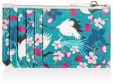 Amanda West Vegan Leather Card Holder - Crane & Blossom