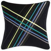 Christian Siriano Chic Stripe Square Throw Pillow