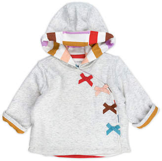 M·A·C MAC AND MOON Mac And Moon Rainbow Bow Girls Hooded Midweight Quilted Jacket-Baby