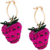 Mercedes Salazar Strawberry earrings