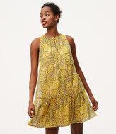 LOFT Petite Sun Garden Swing Dress
