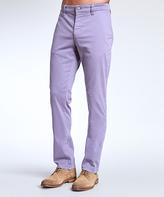 Mavi Jeans Lilac Twill Edward Chino Pants - Men