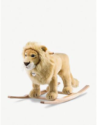Steiff Leo woven riding lion rocker 44cm