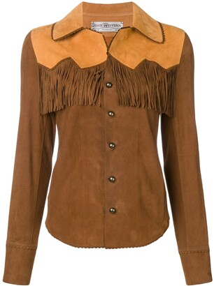 Jessie Western Leather Western Shirt