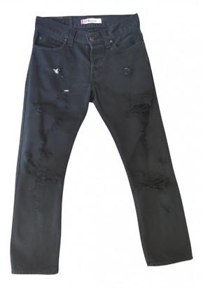 Levi's Vintage Clothing Black Cotton Jeans